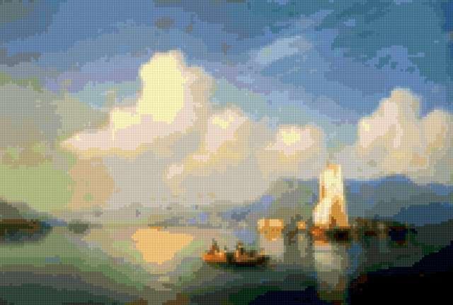 море, айвазовский, картина