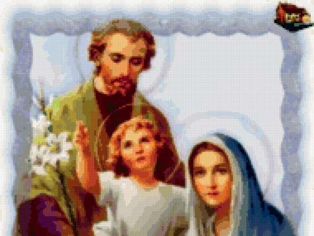 Святое семейство, предпросмотр