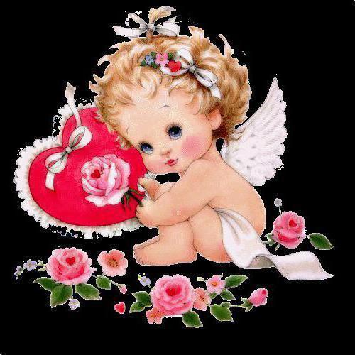 Ангел любви, оригинал