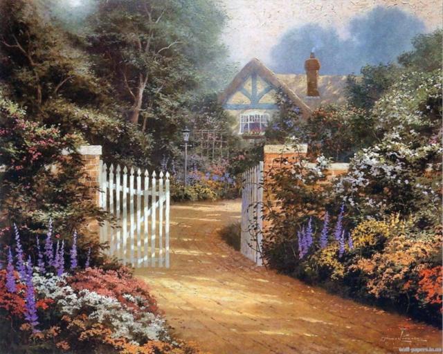 Домик в саду, домики
