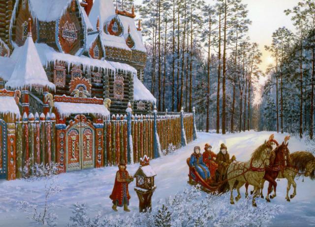 Живопись - Ведическая Русь 2,