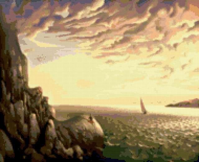 Взгляд на море, предпросмотр