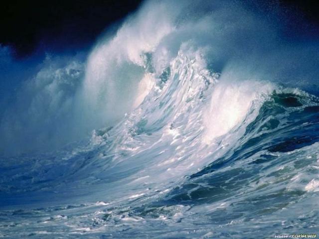 Волна 4, пейзаж, природа,