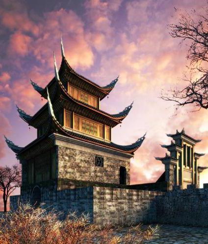 Китайская пагода, оригинал