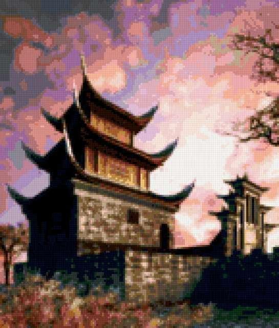 Китайская пагода, предпросмотр