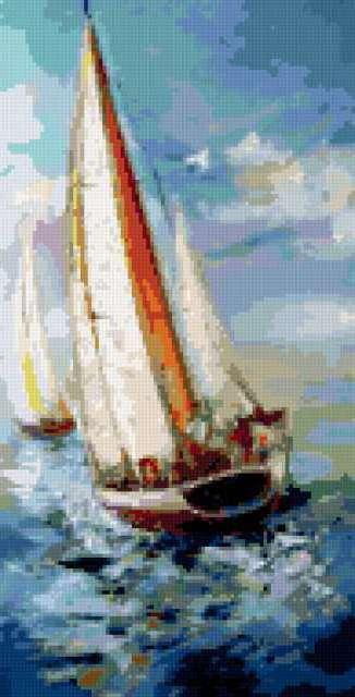 Яхты, яхта, море