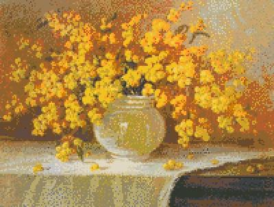 Желтый букет, оригинал