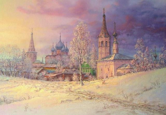 Суздальский Кремль, оригинал