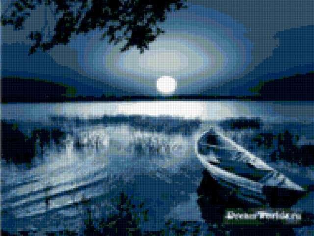 Лунная ночь, предпросмотр