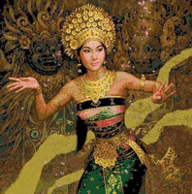 Восточный танец, оригинал