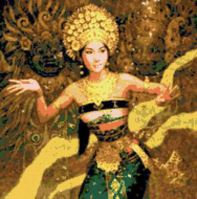 Восточный танец, предпросмотр