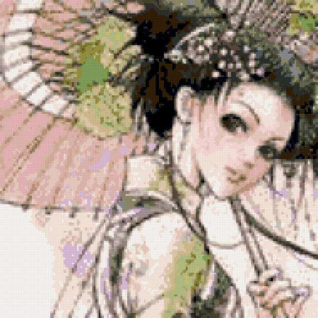 Японский мотив, предпросмотр