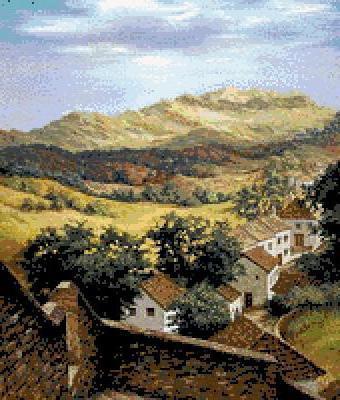 Испания, предместье, пейзаж