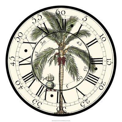 Циферблат с пальмами, оригинал
