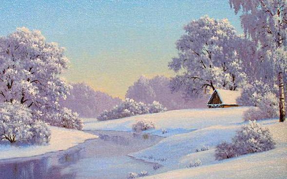 Зимушка-зима, оригинал