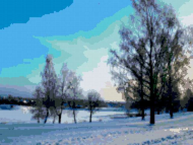 Зимний вечер, предпросмотр