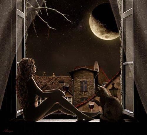 Ночью темной,при луне...,