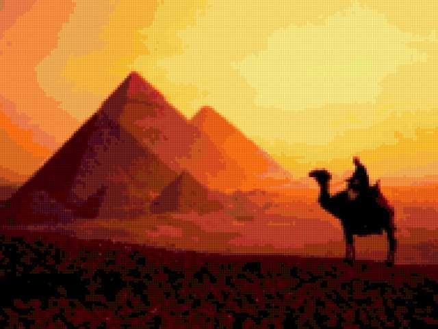 Пустыня и пирамиды