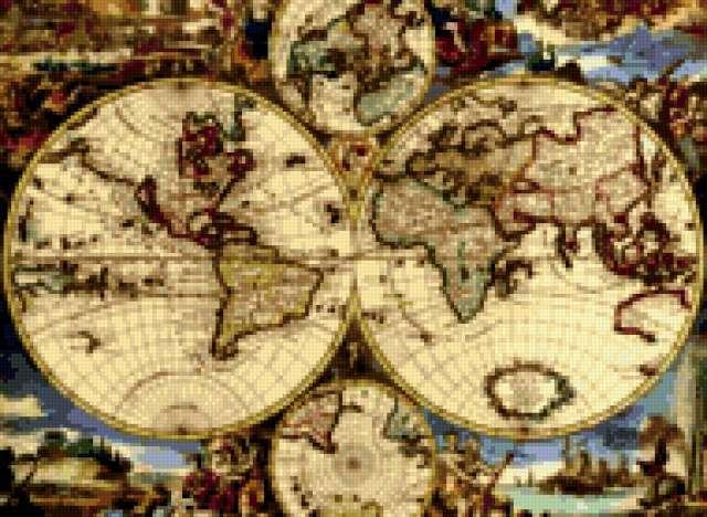 Карта мира,
