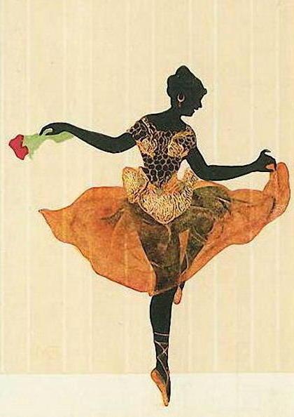 Танцовщица, оригинал