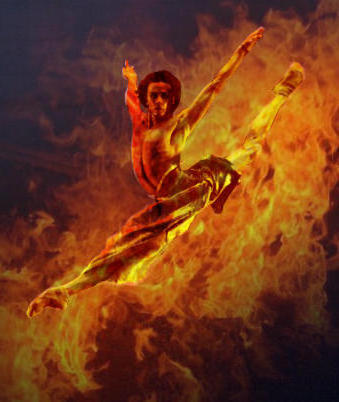 Танец огня, оригинал