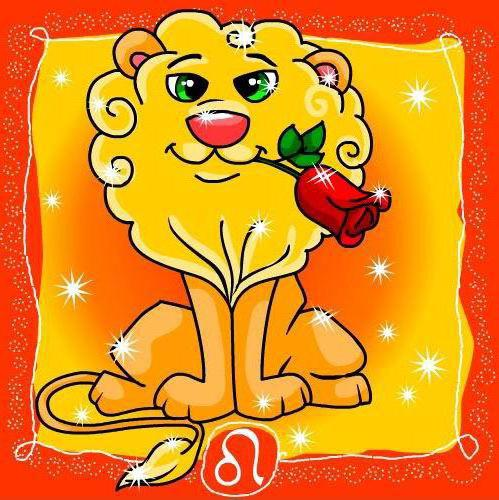 Лев, знаки зодиака
