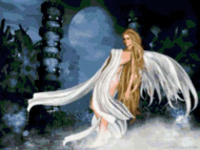 Девушка-ангел, фэнтези
