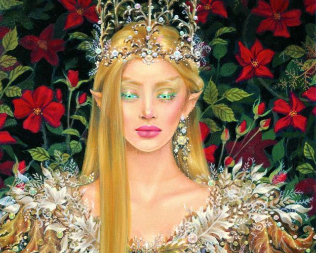 Королева эльфов, фэнтези