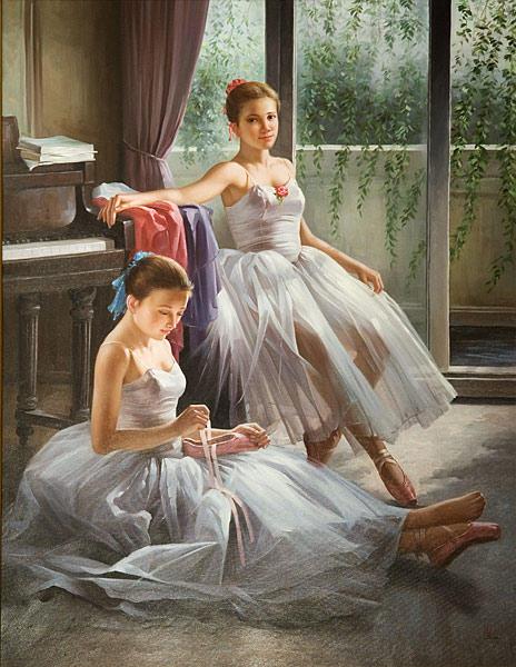 Балерины, оригинал