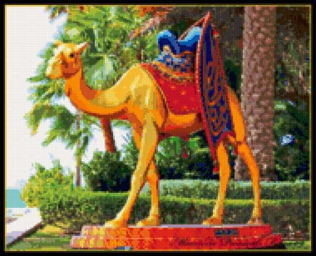 Золотой Верблюд, восток