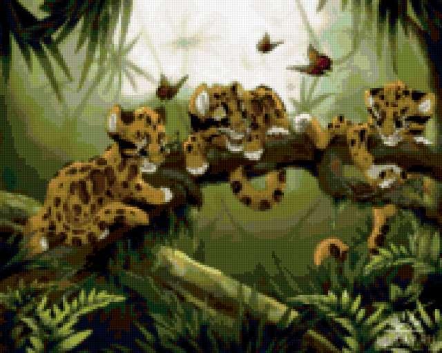 Три тигренка, предпросмотр