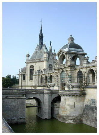Chateau de Chantilly, франция