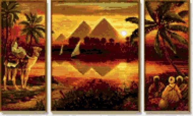 Пирамиды Египта, предпросмотр