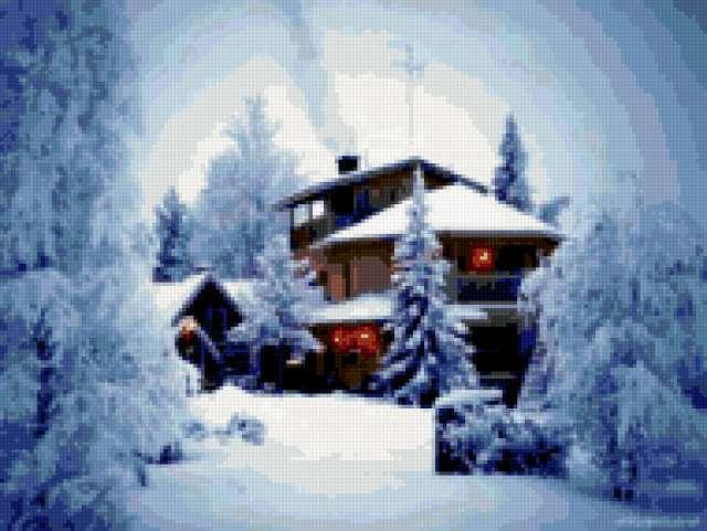 Зимняя сказка, предпросмотр