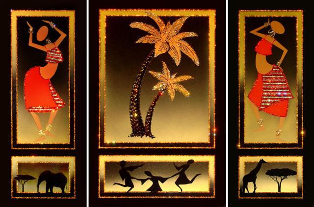 Знойная Африка.Триптих.