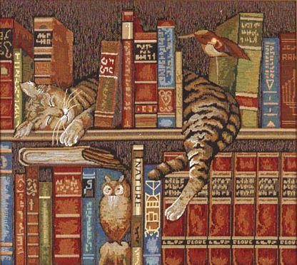 Схема вышивки библиотека