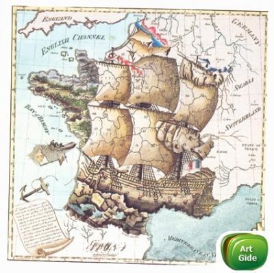 Старая карта, разное