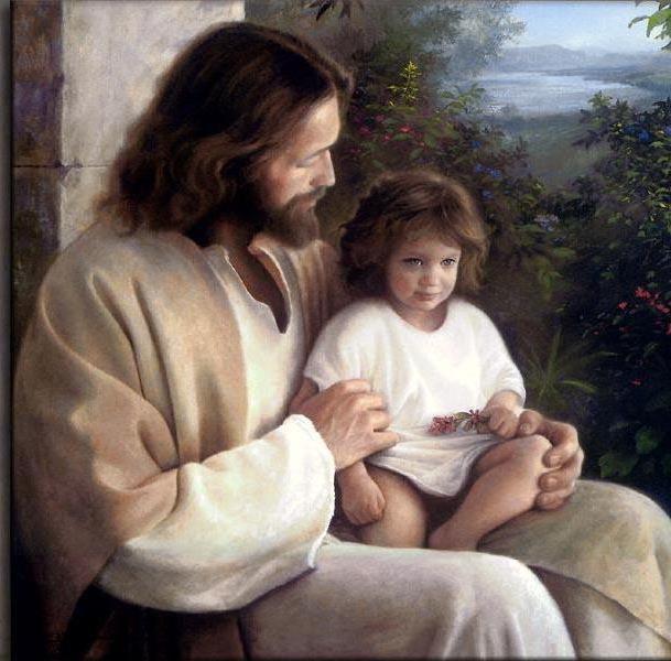 Иисус и ребёнок, оригинал