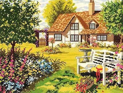 Английский дворик, оригинал