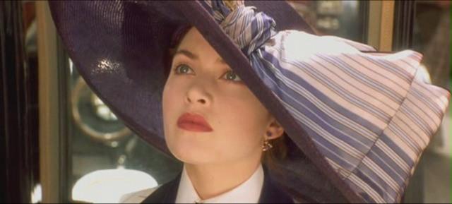 Кейт Уинслет в Титанике,