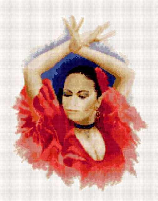 Фламенко, испания, танец