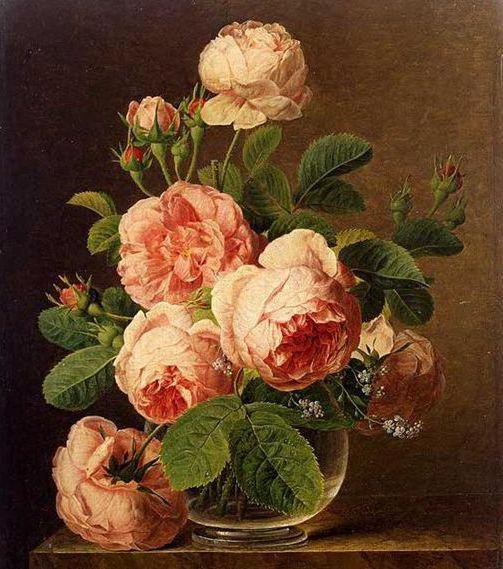 Большие розы, цветы, букет,