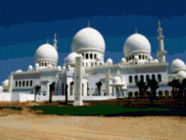 Мечеть Шейх Заид Дубаи,
