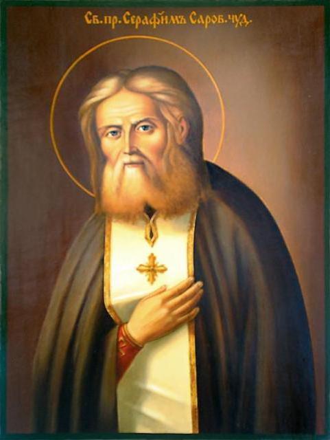 Серафим Саровский, оригинал