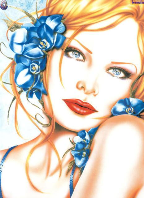 Девушка-весна, девушка