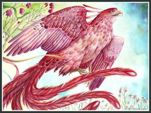 Птица счастья, оригинал
