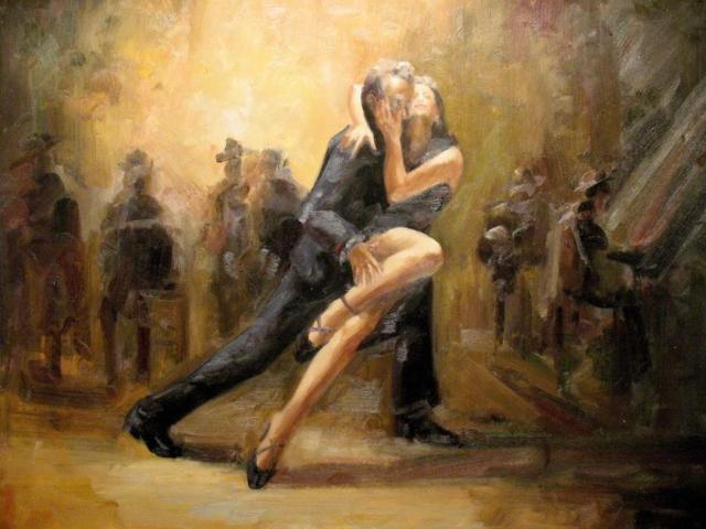 танец, мужчина и женщина