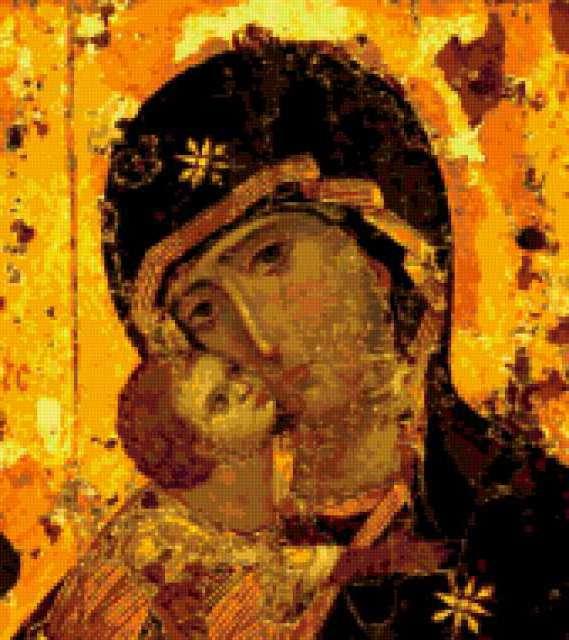 Владимирская икона , иконы