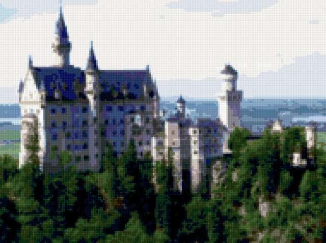 Замки Баварии, предпросмотр