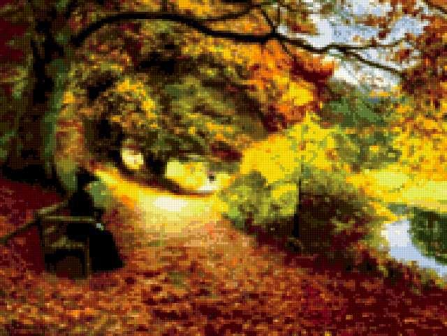 Осенний пейзаж, предпросмотр